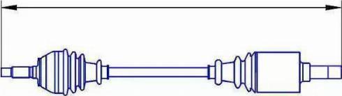 Sercore 12764 - Árbol de transmisión superrecambios.com