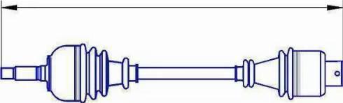 Sercore 12771 - Árbol de transmisión superrecambios.com