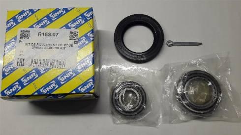 SNR R15307 - Juego de cojinete de rueda superrecambios.com