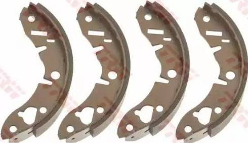 TRW GS6028 - Juego de frenos, frenos de tambor superrecambios.com