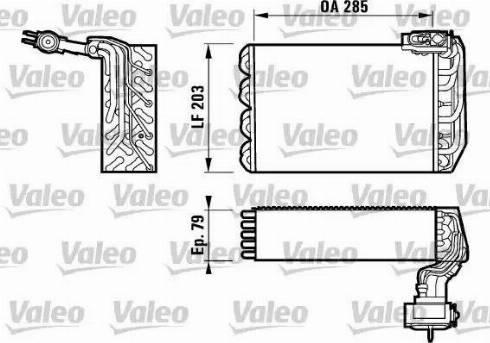 Valeo 817095 - Evaporador, aire acondicionado superrecambios.com