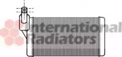 NRF 53889 - Radiador de calefacción superrecambios.com