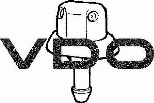 VDO 246069029004G - Tobera de agua regadora, lavado de parabrisas superrecambios.com